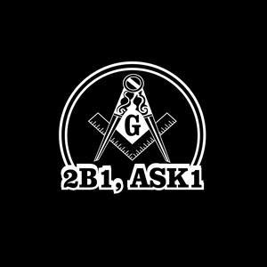 2b1 ask1 Mason Masonic Decal