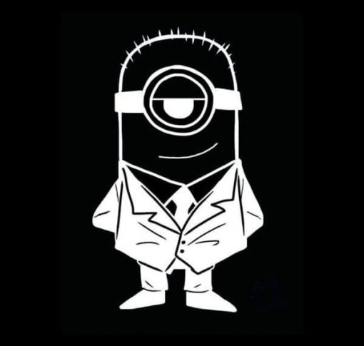 Minion in Suit car decal sticker - https://customstickershop.us/product-category/stickers-for-cars/