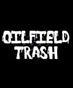 Oil Field Trash Window Decal Sticker - https://customstickershop.us/product-category/truck-decals/