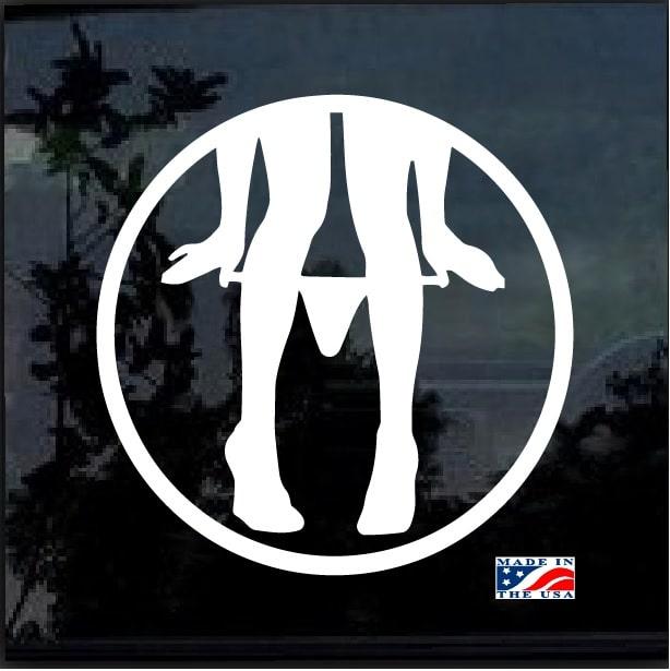 29284984532 Panty Dropper Round JDM Car Window Decal Stickers – Custom Sticker Shop