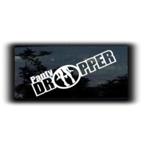 Panty Dropper JDM Stickers - https://customstickershop.us/product-category/jdm-stickers/