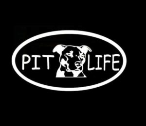 Pit Life Pit Bull Animal Stickers - https://customstickershop.us/product-category/animal-stickers/