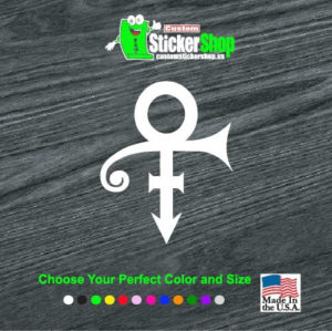 prince the artists band decal sticker