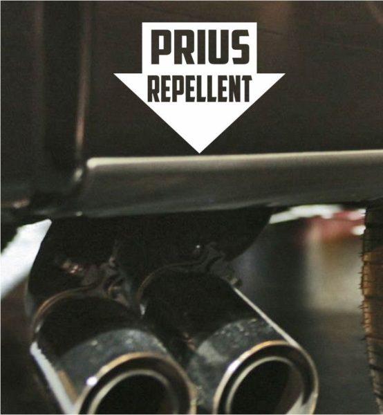 prius repellent vinyl decal stickers