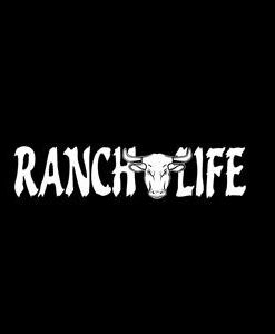 Ranch Life Bull Skull Window Decals