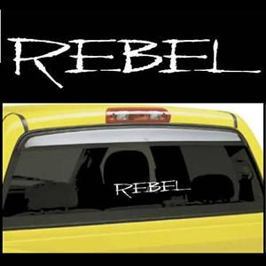 Rebel Truck Window Decals - https://customstickershop.us/product-category/truck-decals/