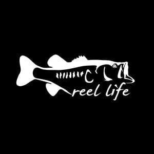 Reel Life Fishing Window Decal