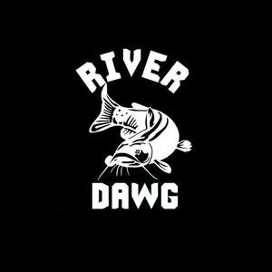 River Dawg Fishing Window Decal