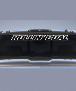 Rollin Coal Diesel Windshield Decal - https://customstickershop.us/product-category/windshield-decals/
