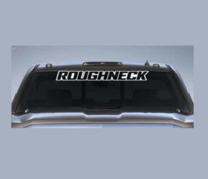 Roughneck Windshield Decal - https://customstickershop.us/product-category/windshield-decals/