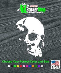 shadow skull window decal sticker 1