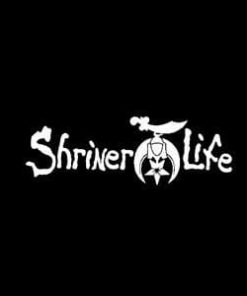 Shriner Life Car Window Decal