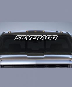 Windshield Banner Decal Stickers Custom Sticker Shop - Chevy windshield decals trucks