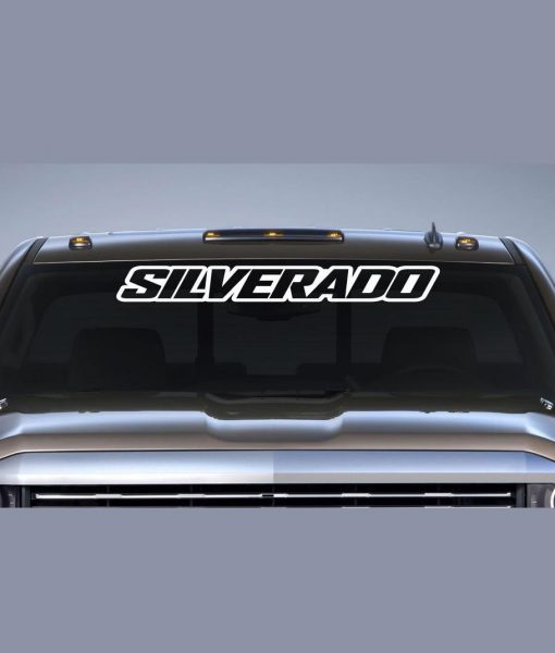 Chevy silverado iii windshield decal http customstickershop us product