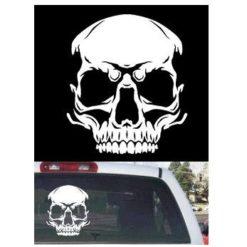 Skull Truck Window Decal Sticker - https://customstickershop.us/product-category/truck-decals/
