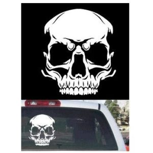 Skull Truck Window Decal Sticker - https://customstickershop.us/product-category/truck-decals/
