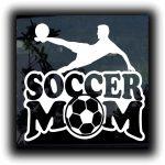 Soccer Mom Decal Sticker