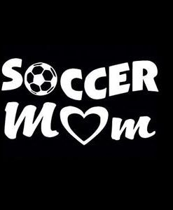 Soccer Mom Car Window Decal a4