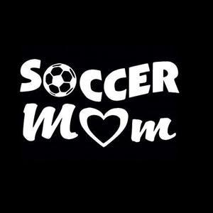Soccer Mom Car Window Decal a4