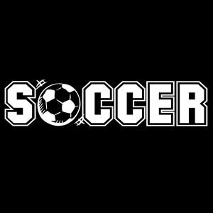 Soccer Car Window Decal Sticker a1