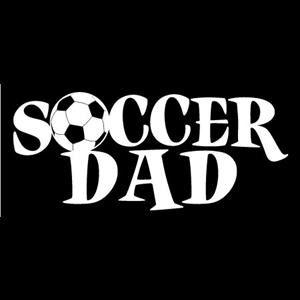 Soccer Dad Car Window Decal a1