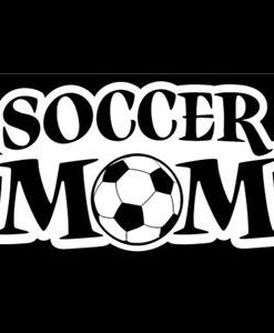Soccer Mom Car Window Decal a5