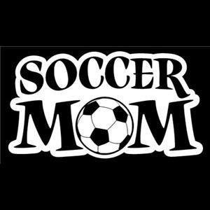 Soccer Mom Car Window Decal a5