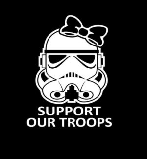 Support Troops Lady Storm Trooper