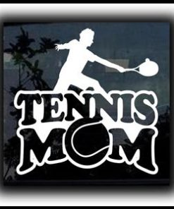 Tennis Mom Car Window Decal a1