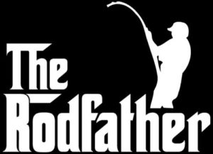 RodFather Funny Fishing Sticker