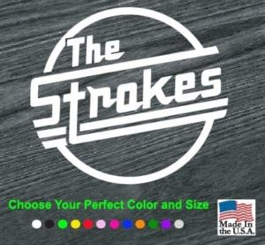 the strokes window decal sticker