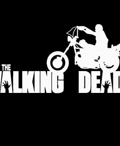 Walking Dead Daryl Dixon Bike Decal - https://customstickershop.us/product-category/stickers-for-cars/