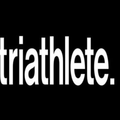Triathlete Window Decal Sticker - https://customstickershop.us/product-category/stickers-for-cars/