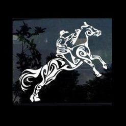 Tribal Horse Window Decals