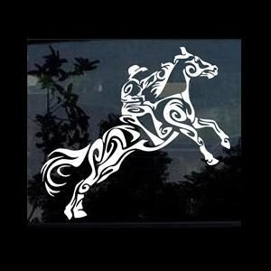 Tribal Horse Window Decals