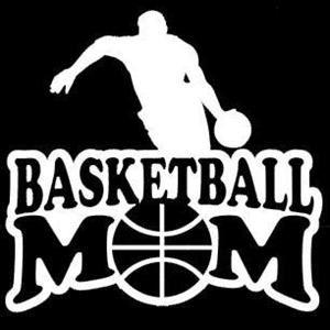 Basketball Mom Sports Car Decals