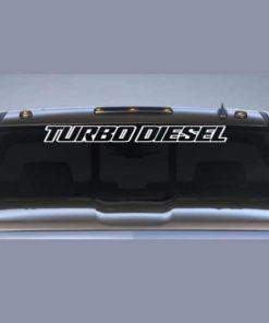 Ford Turbo Diesel II Windshield Decal - https://customstickershop.us/product-category/windshield-decals/