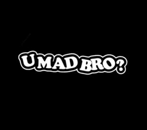 You Mad Bro JDM Stickers - https://customstickershop.us/product-category/jdm-stickers/