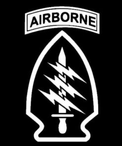 US Army Airborne Special Forces Decal