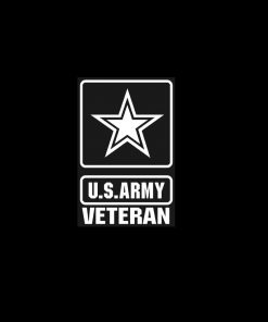 US Army Veteran Decal Sticker