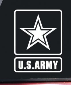 US Army Window Decal Sticke