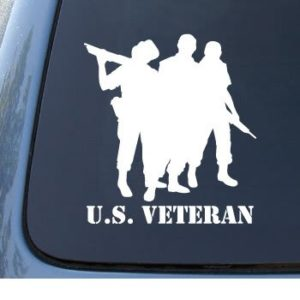 US Military Veteran Decal Sticker
