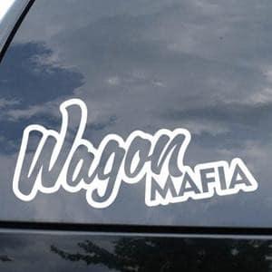 Wagon Mafia JDM Window Decal - https://customstickershop.us/product-category/jdm-stickers/