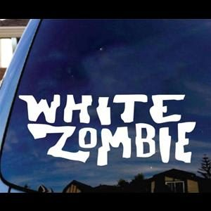 White Zombie Music Window Decal