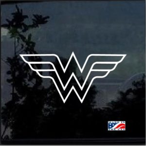 wonder woman outline decal sticker
