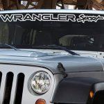 Jeep Wrangler Sport Windshield Banner Decal Sticker
