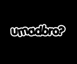 You Mad Bro JDM Vinyl Decal Stickers A44