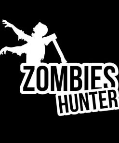 Zombie Hunter Zombie Stickers