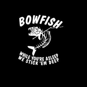 Bowfish Fishing Decals