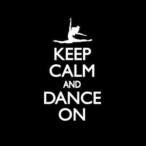 Keep Calm and Dance On Decal